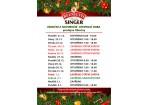 Vánoční a novoroční otevírací doba prodejna OBECINY ZLÍN