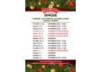 Vánoční a novoroční otevírací doba prodejna TRŽNICE ZLÍN